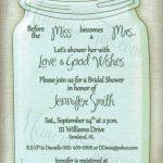 Free Printable Wedding Invitations Mason Jars | Rustic Wedding Ideas   Free Mason Jar Wedding Invitation Printable Templates