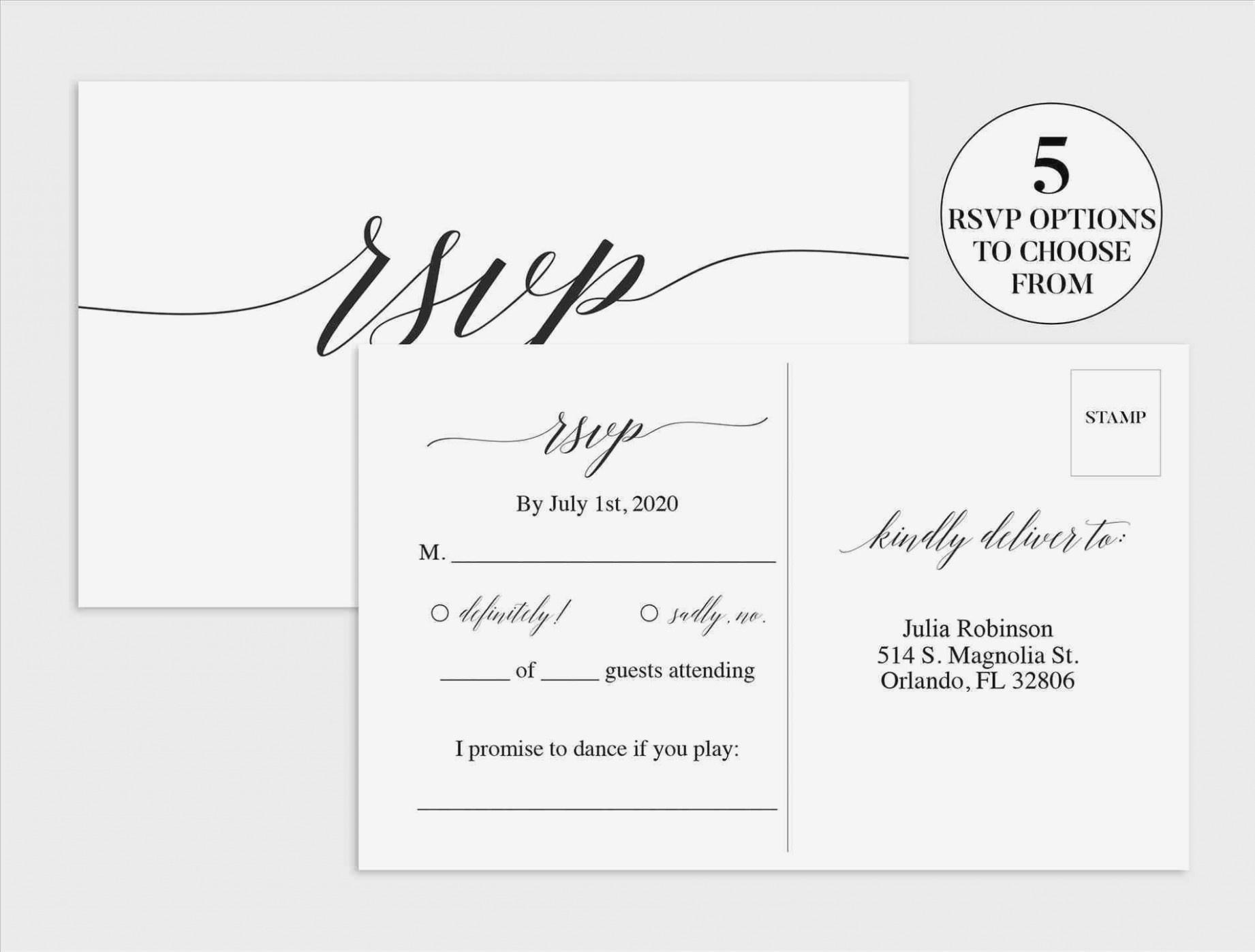 Free Printable Wedding Rsvp Card Templates – Keni.candlecomfortzone - Free Printable Rsvp Cards