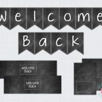 Free Printable Welcome Back To School Banner | Bulletin Boards   Welcome Back Banner Printable Free