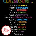 Free Printable   Welcome Back To School, Classroom Printable For   Free Printable Welcome Back Signs For Work