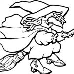 Free Printable Witch Coloring Pages For Kids   Free Printable Pictures Of Witches
