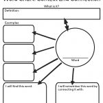 Free Printable Word Chart From Crabtree Publishing | School   Free Printable Graphic Organizers