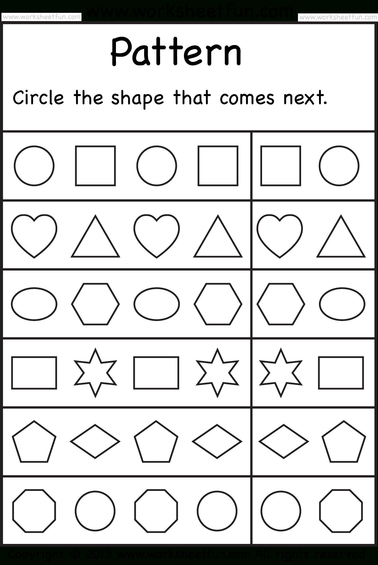 Free Printable Worksheets – Worksheetfun / Free Printable - Free Printable Sequencing Worksheets For Kindergarten