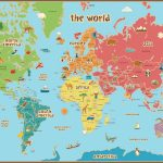 Free Printable World Map For Kids Maps And   Gary's Scattered Mind   Free Printable World Map