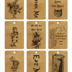 Free Printables Archives   Page 2 Of 5   The Graffical Muse   Alice In Wonderland Signs Free Printable