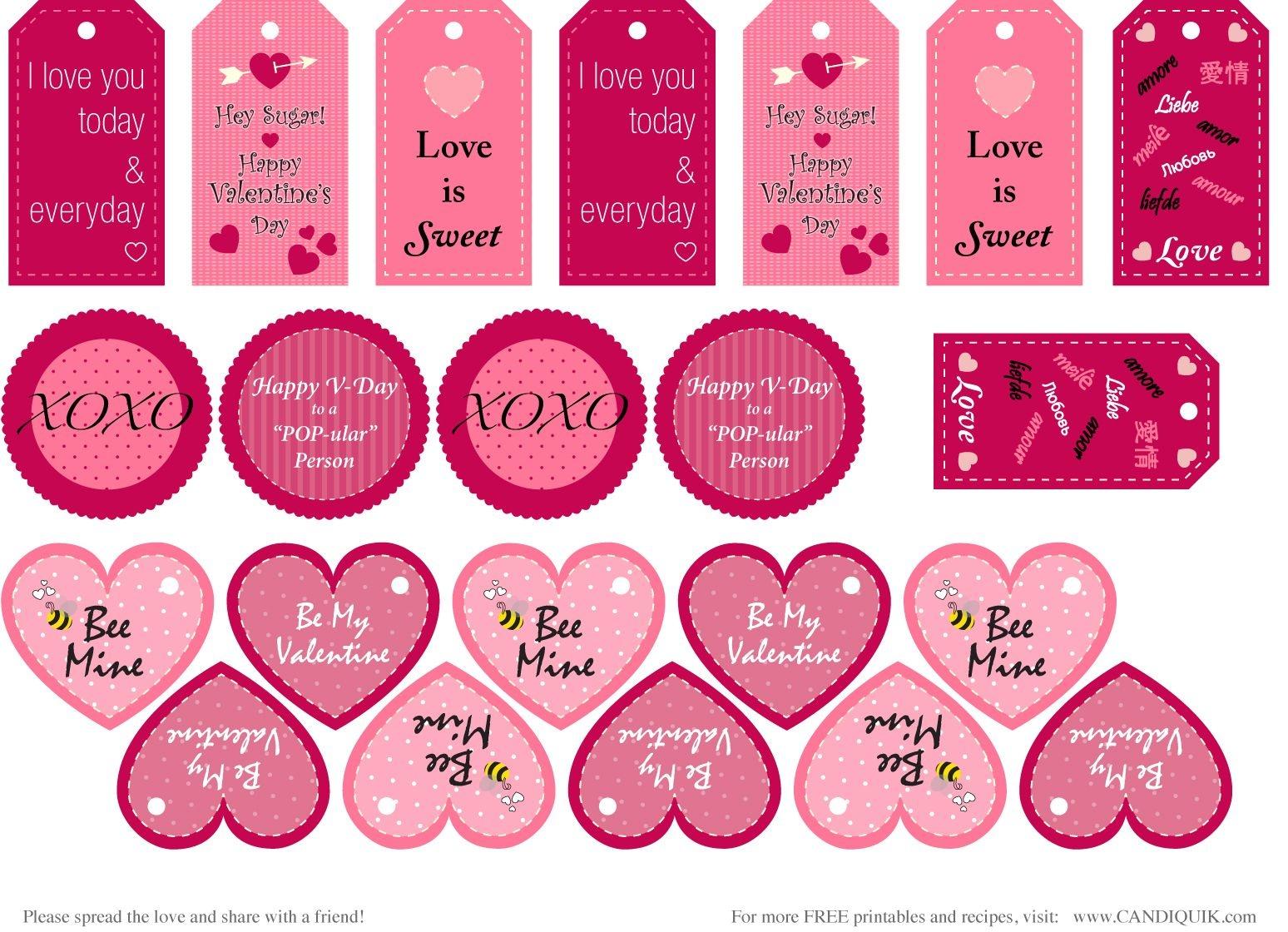 Free} Printables | Valentines | Valentine's Day Printables - Free Printable Valentine Graphics