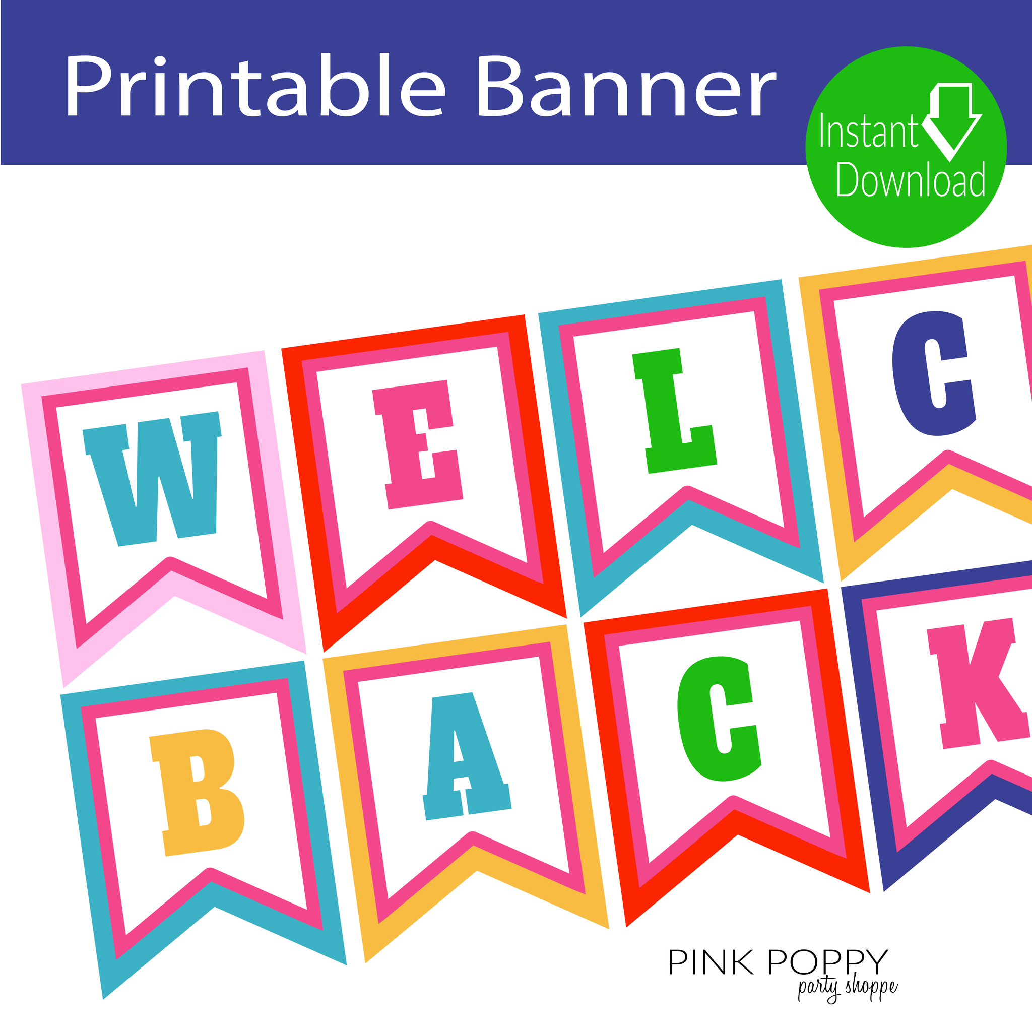 Free Printables} Welcome Back Banner | Edukacja | Edukacja - Free Printable Welcome Back Signs For Work