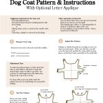 Free Sewing Patterns For Dog Clothes   New Zealand Of Gold Discovery   Free Printable Dog Coat Sewing Patterns