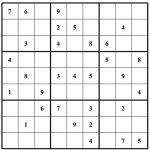 Free Sudoku Puzzles | Enjoy Daily Free Sudoku Puzzles From Walapie   Free Printable Sudoku