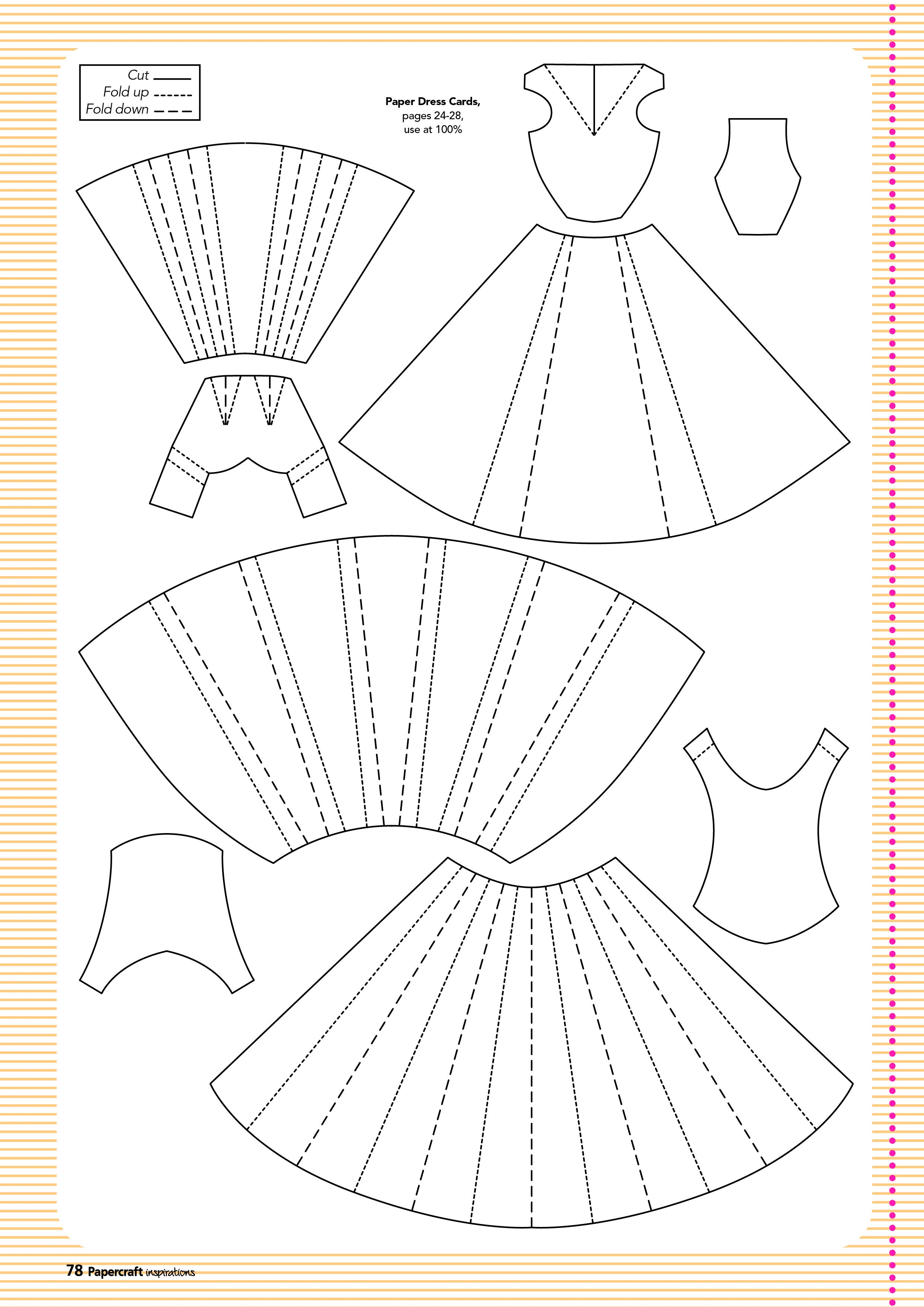 Free Templates From Papercraft Inspirations 129   Card Design - Free Card Making Templates Printable