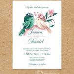 Free To Download And Print Pdf Wedding Invitation   Printable   Free Printable Wedding Invitation Kits