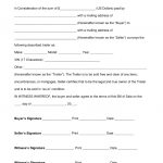 Free Trailer Bill Of Sale Form   Word | Pdf | Eforms – Free Fillable   Free Printable Bill Of Sale For Trailer