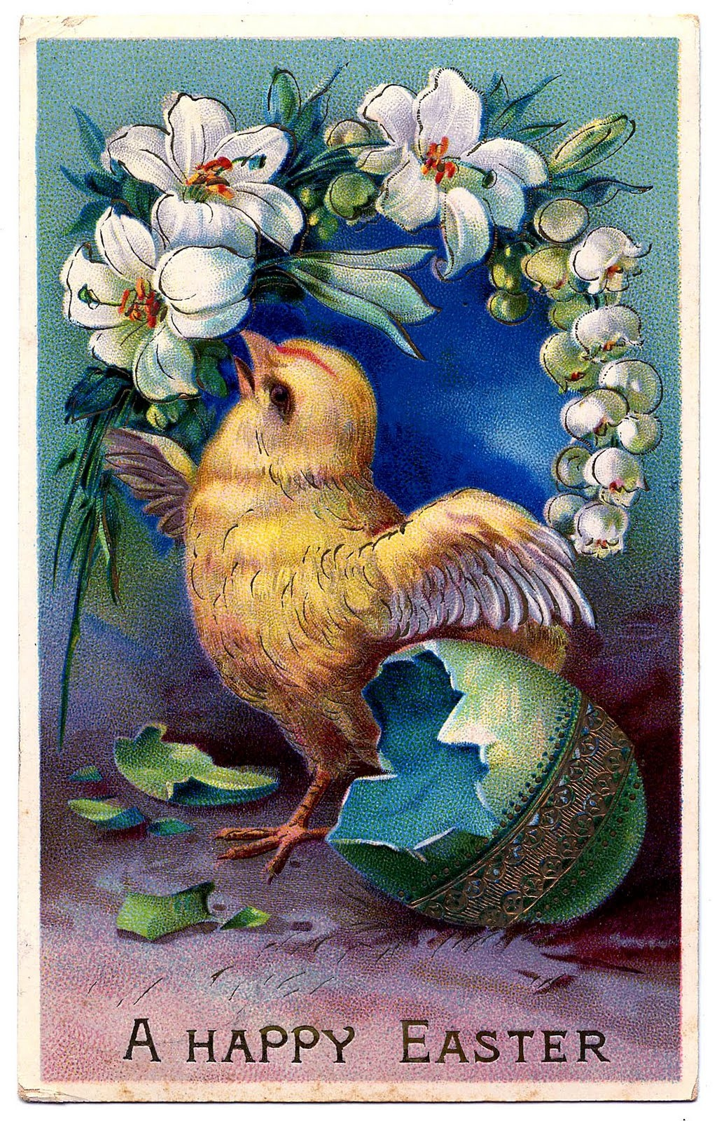 Free Vintage Chick Cliparts, Download Free Clip Art, Free Clip Art - Free Printable Vintage Easter Images