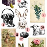 Free Vintage Easter Clipart Images » Maggie Holmes Design   Free Printable Vintage Easter Images