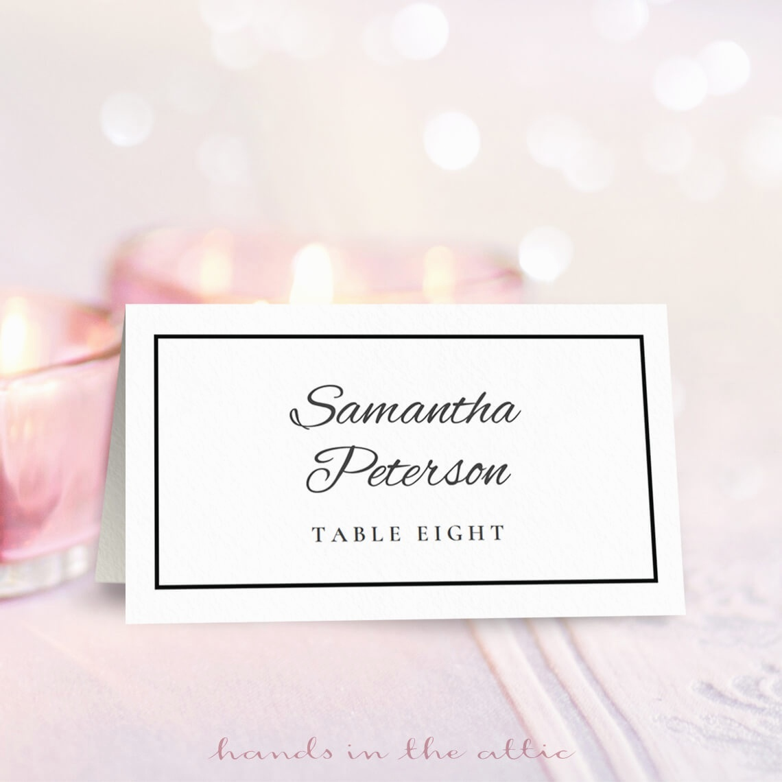 Free Wedding Place Card Template Top 13 Trends In Free - Marianowo - Free Printable Place Cards Template