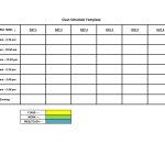 Free Work Schedule Maker Template Mctoom Com Kly Printable Class   Free Printable Work Schedule Maker