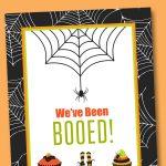 Free You've Been Booed Printable   Neighborhood Boo Tradition | Lil   We Ve Been Booed Free Printable