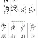 Freebie Friday: Free Printable Asl Alphabet Flashcards Pack | Best   Sign Language Flash Cards Free Printable