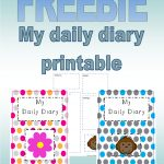 Freebie 'my Daily Diary' Printable For Childminders And Nurseries   Free Printable Childminding Resources