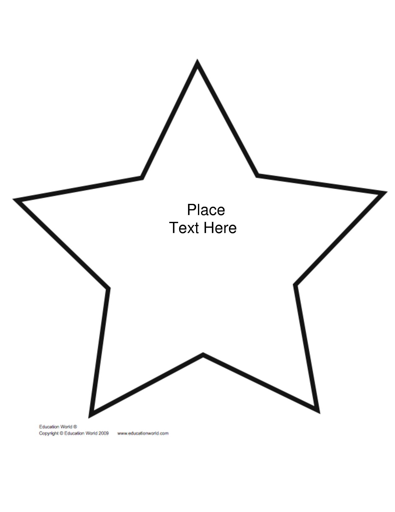 Free+Printable+Star+Shape+Templates | Biblical Preschool Lessons - Star Of David Template Free Printable