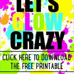 Fresh Neon Party Invitations Templates Free | Best Of Template   Free Printable Glow In The Dark Birthday Party Invitations
