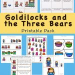 Goldilocks And The Three Bears Printable Pack | Bear Unit | Bear   Free Printable Story Books For Kindergarten