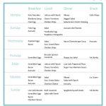 Grab This Printable 7 Day Keto Sample Menu Plan | Keto | Ketogenic   Free Printable Low Carb Diet Plans