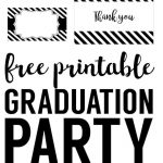 Graduation Party Free Printables | Printables And Instant Downloads   Free Printable Graduation Cupcake Toppers
