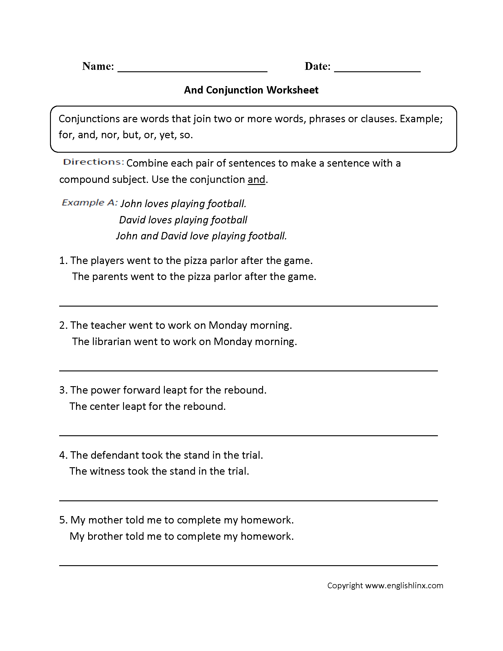 Grammar Worksheets | Parts Of Speech Worksheets - Free Printable Parts Of Speech Worksheets