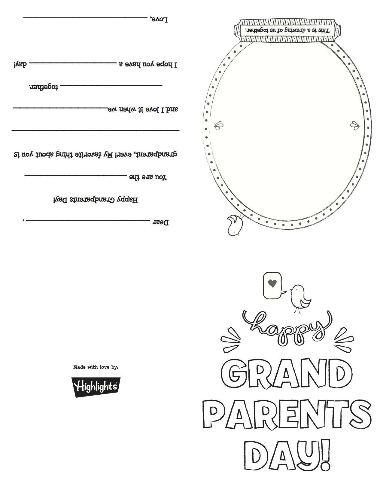 Grandparentsdaycard_Copy | Grandparents Day | Grandparents Day - Grandparents Day Cards Printable Free
