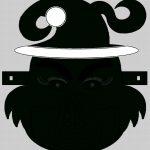 Grinch Santa Face Mask Cut Out A4 | Kids Stuff | Grinch Mask, Santa   Free Printable Face Masks