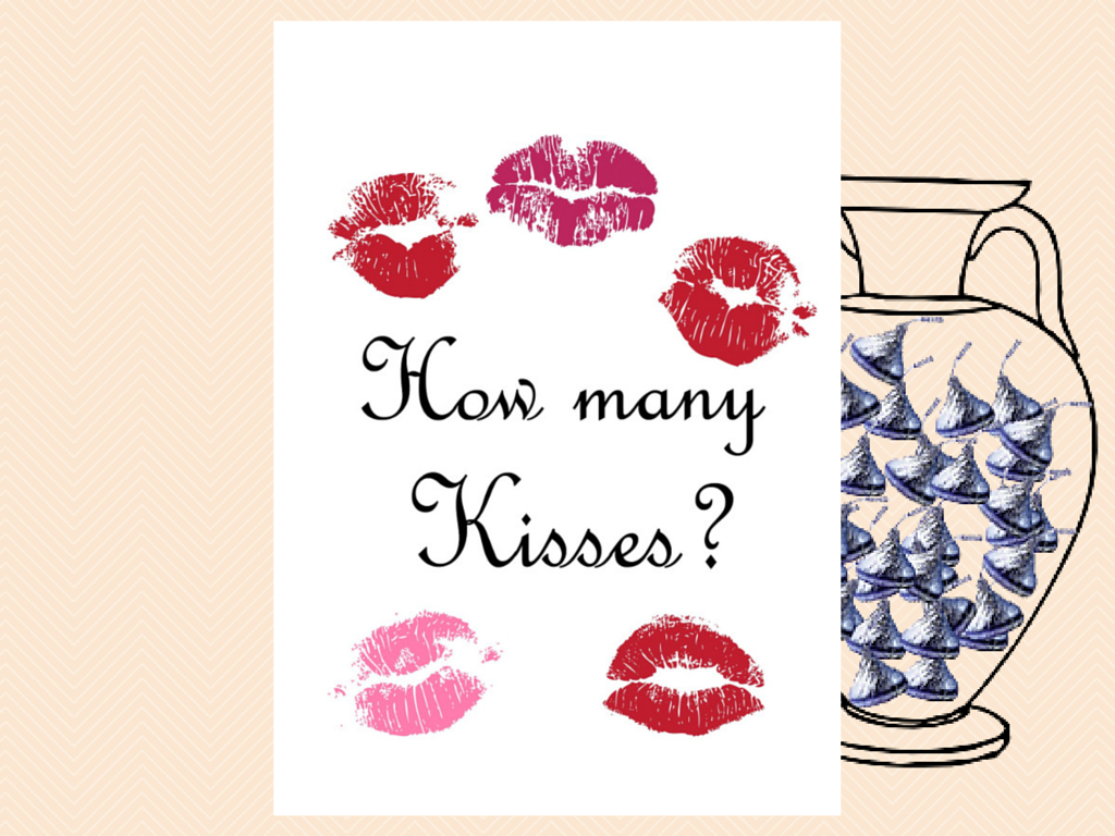 Guess How Many Kisses There Are In A Jar - Magical Printable - How Many Kisses Game Free Printable