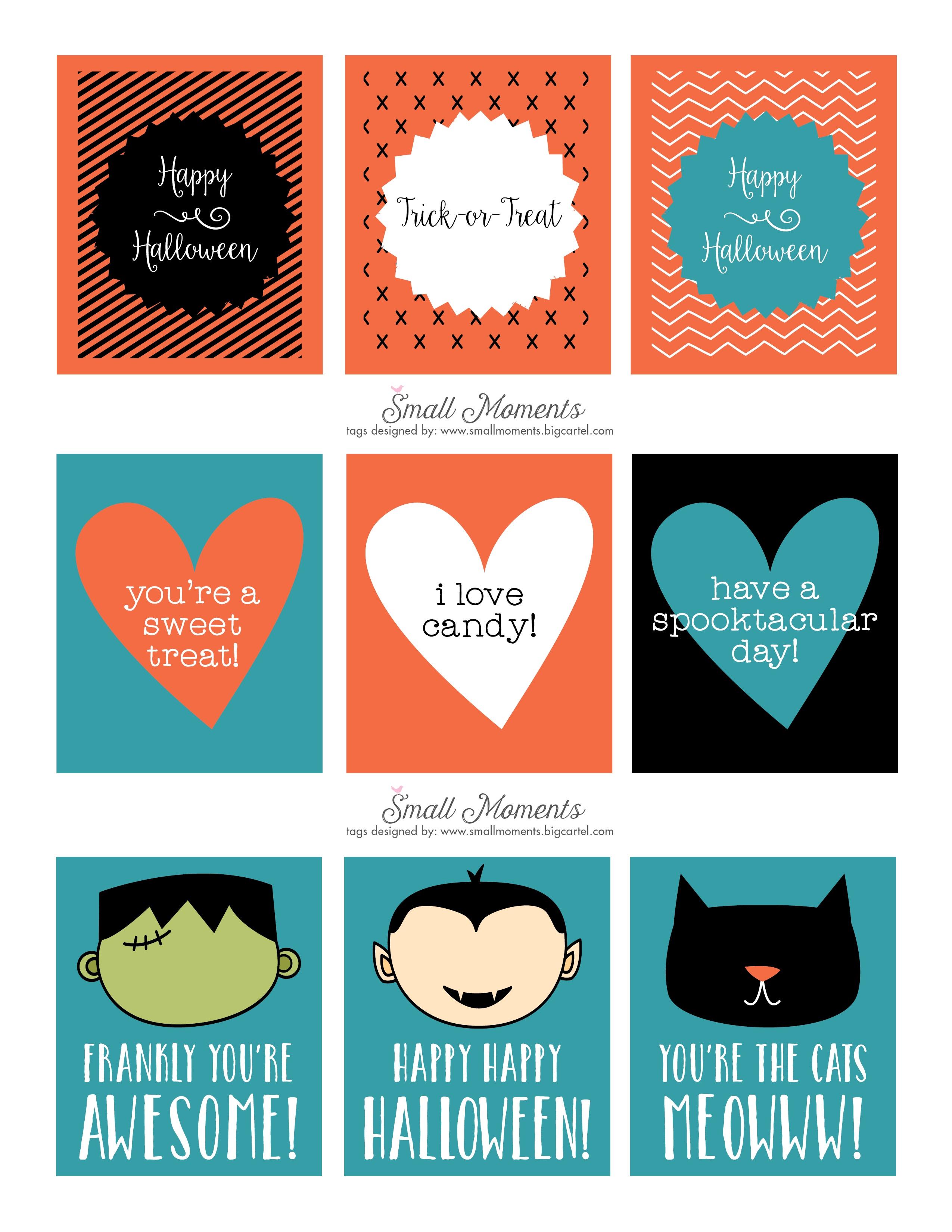 Halloween: Free Printable Tags - See Vanessa Craft - Free Printable Halloween Labels