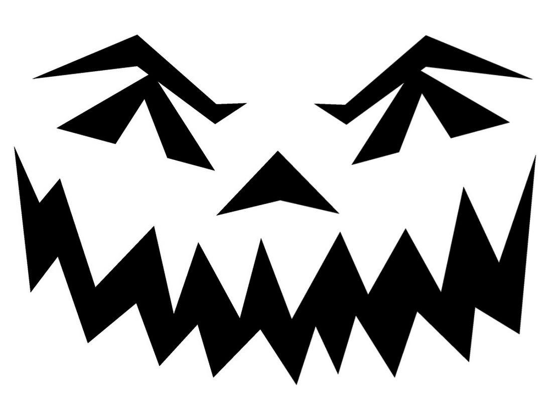 Halloween Pumpkin Stencils To Print | Pin Scary Pumpkin Stencils - Scary Pumpkin Patterns Free Printable