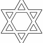 Hanukkah Coloring Pages | Free Download Best Hanukkah Coloring Pages   Star Of David Template Free Printable