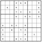 Hard Puzzle | Free Sudoku Puzzles | Printable Sudoku 4 Per Page   Free Printable Sudoku