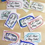 Have A Kid That Always Misses His Friends When They're Not At School   Free Printable Play Date Cards