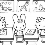 Hello Kitty Back To School Coloring Page | Free Printable Coloring Pages   Back To School Free Printable Coloring Pages