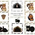 Hibernation & Migration Printable | Preschool | Preschool Printables   Free Printable Hibernation Worksheets