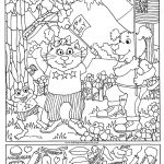 Hidden Pictures Page   Print Your Free Hidden Pictures Page At   Free Printable Hidden Object Games
