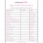 High Quality Free Baby Shower Games Printouts   Ideas House Generation   Free Baby Shower Games Printable Worksheets