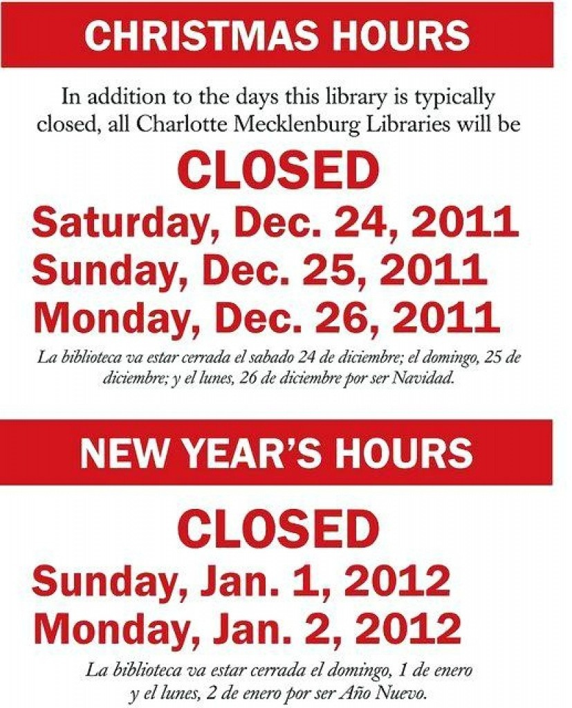 Holiday Closing Signs Templates Template Business For Free Printable - Free Printable Holiday Closed Signs