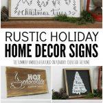 Holiday Home Decor Signs And Free Printable Gift   Free Printable Holiday Signs Closed