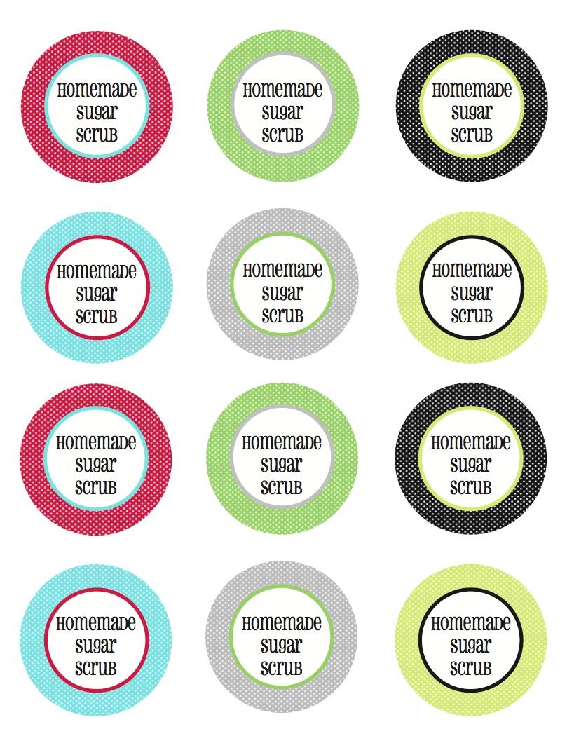 Homemade Sugar Scrub With Free Printable Tags And Labels | Less Than - Free Printable Sugar Scrub Labels