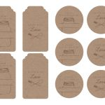 Homemade Tags For Your Baked Goods | Printables & Graphics | Bake   Free Printable Baking Labels