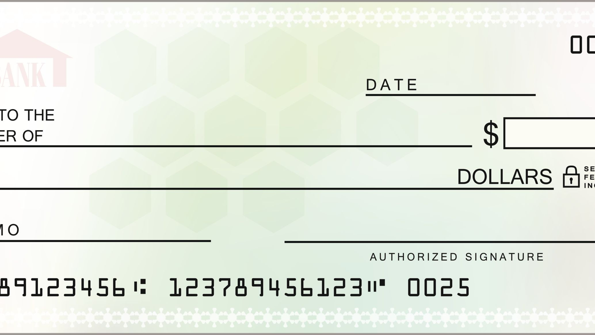 How Counter Checks Work: Checks From Your Branch - Free Printable Checks