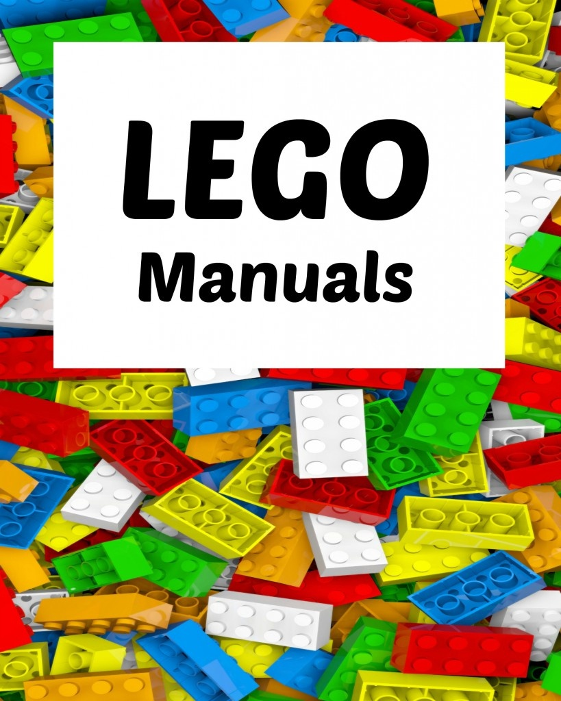 How To Organize Lego Manuals (+ Free Lego Printables!) | Making Lemonade - Free Printable Lego Instructions