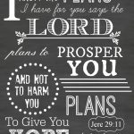 I Love This Encouraging Words From The Lord! ~ Free Printable   Jeremiah 29 11 Free Printable