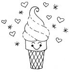 Ice Cream Coloring. Ice Cream Coloring Pages 4 Ice Cream Coloring   Ice Cream Color Pages Printable Free