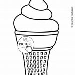 Ice Cream Coloring Pages For Kids, Printable | Coloing 4Kids   Ice Cream Color Pages Printable Free